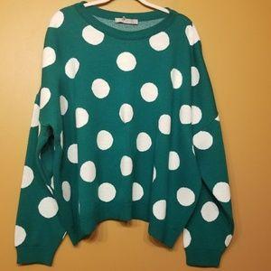 ASOS | Women's Polka Dot Oversized Sweater (US 22)